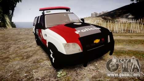 Chevrolet Blazer 2010 Tactical Force [ELS] para GTA 4