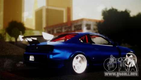 Nissan Silvia S15 DC Hunter para GTA San Andreas left