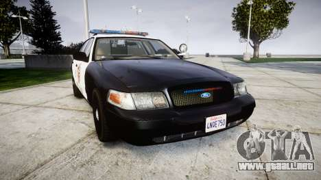 Ford Crown Victoria LAPD [ELS] para GTA 4
