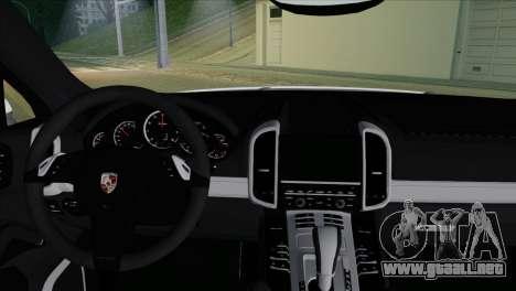 Porsche Cayenne Turbo 2012 para la visión correcta GTA San Andreas