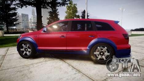 Audi Q7 2009 ABT Sportsline para GTA 4 left