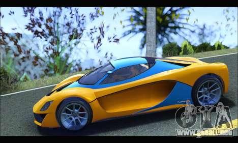 Grotti Turismo R v2 (GTA V) (IVF) para GTA San Andreas left