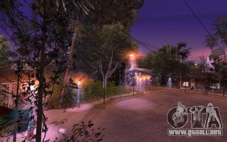 New Grove Street 50 para GTA San Andreas tercera pantalla