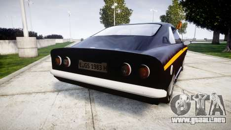 Opel Manta A Black Magic para GTA 4 Vista posterior izquierda