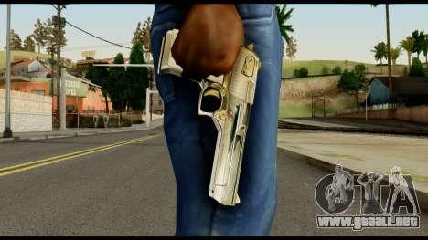 Desert Eagle from Max Payne para GTA San Andreas tercera pantalla