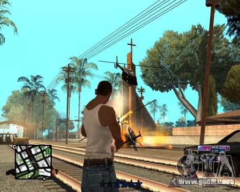 COSMOS C-HUD para GTA San Andreas segunda pantalla