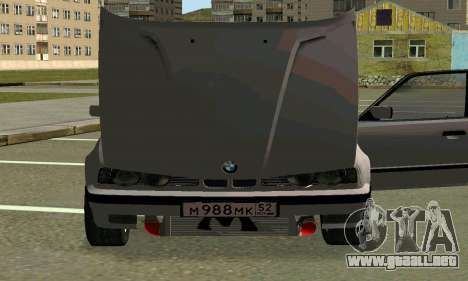 BMW 525 Turbo para la vista superior GTA San Andreas