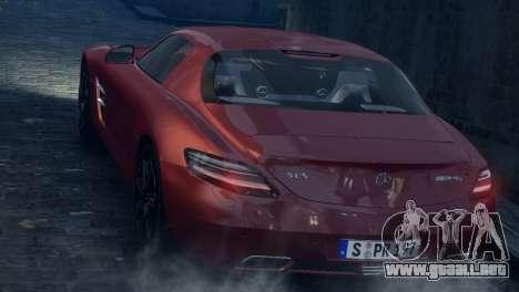 Mercedes-Benz SLS AMG 2011 [EPM] para GTA 4 vista lateral