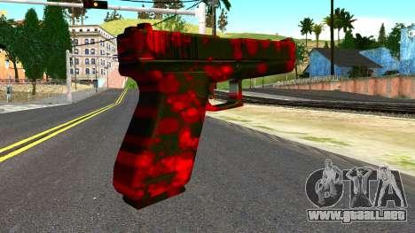 Pistol with Blood para GTA San Andreas segunda pantalla