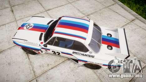 BMW 3.0 CSL Group4 [32] para GTA 4 visión correcta