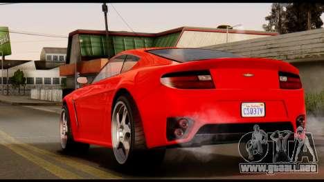 GTA 5 Dewbauchee Rapid GT Coupe [IVF] para GTA San Andreas left