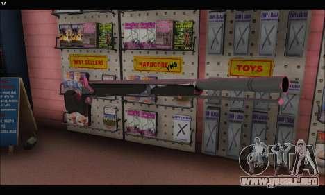 GTA V Musket para GTA San Andreas segunda pantalla