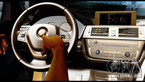 BMW 4-series F32 Coupe 2014 Vossen CV5 V1.0 para la visión correcta GTA San Andreas
