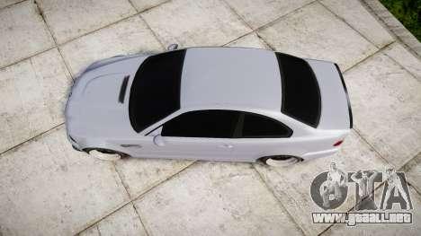 BMW E46 M3 para GTA 4 visión correcta