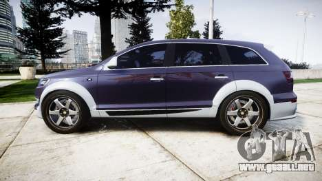 Audi Q7 2009 ABT Sportsline [Update] rims1 para GTA 4 left