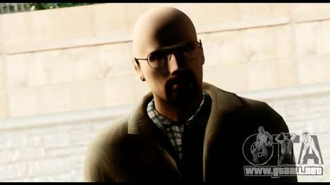 Heisenberg from Breaking Bad para GTA San Andreas tercera pantalla