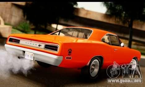 Dodge Coronet Super Bee 1970 para GTA San Andreas left