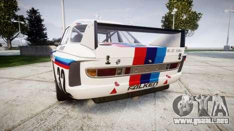 BMW 3.0 CSL Group4 [32] para GTA 4 Vista posterior izquierda
