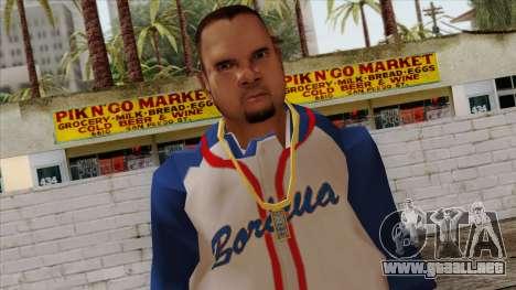 GTA 4 Skin 20 para GTA San Andreas tercera pantalla