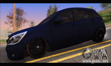 Chevrolet Agile Tunning para GTA San Andreas left