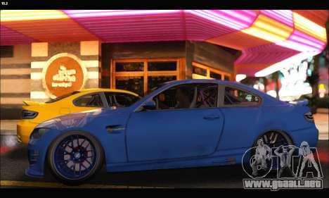 BMW M3 GTS 2010 para GTA San Andreas left