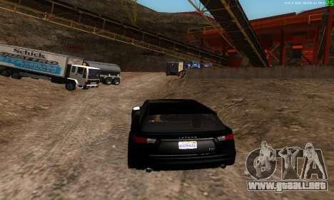 Nuevas rutas de transporte para GTA San Andreas sucesivamente de pantalla
