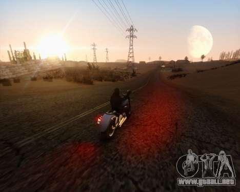 ENB_OG v2 para GTA San Andreas segunda pantalla