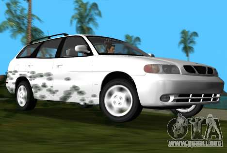 Daewoo Nubira I Wagon CDX US 1999 para GTA Vice City vista lateral izquierdo