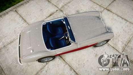 Austin-Healey 100 1959 para GTA 4 visión correcta