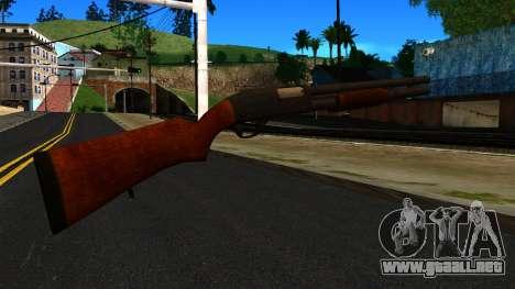 De madera MP-133 Plata para GTA San Andreas segunda pantalla