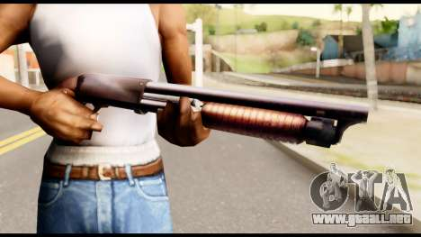 M37 from Metal Gear Solid para GTA San Andreas tercera pantalla