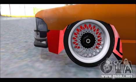 Taxi Extreme Tuning (Hellalfush) para visión interna GTA San Andreas