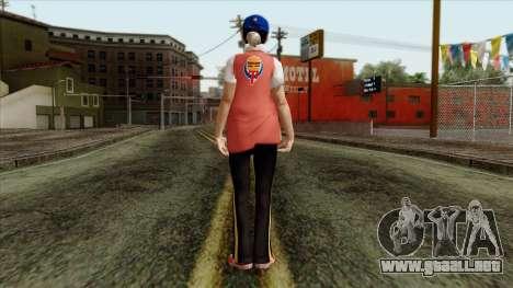 GTA 4 Skin 81 para GTA San Andreas segunda pantalla