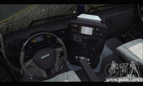 Iveco Trakker 2014 Concrete Snow (IVF & ADD) para la visión correcta GTA San Andreas