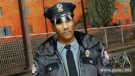Police Skin 11 para GTA San Andreas tercera pantalla