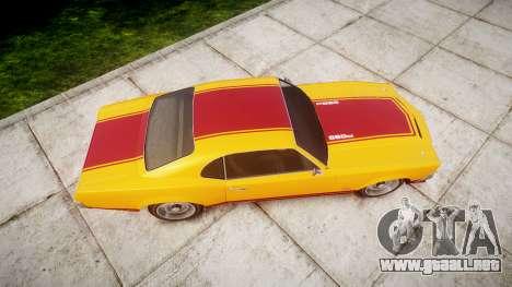 Declasse Sabre GT Little Wheel para GTA 4 visión correcta