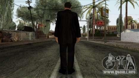 GTA 4 Skin 80 para GTA San Andreas segunda pantalla