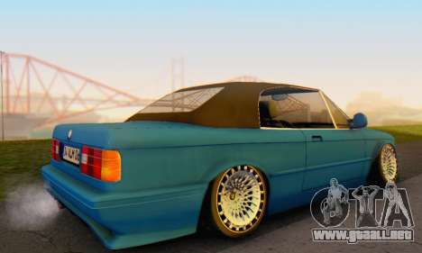 BMW M3 E30 Cabrio para GTA San Andreas left