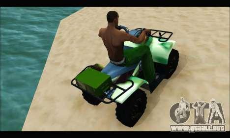 ATV Army Edition para la visión correcta GTA San Andreas