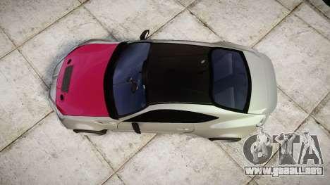 Toyota GT-86 RocketBunny para GTA 4 visión correcta