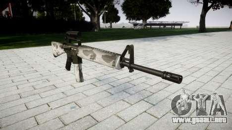El rifle M16A2 [óptica] yukon para GTA 4