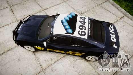 Dodge Charger RT 2013 LCPD [ELS] para GTA 4 visión correcta