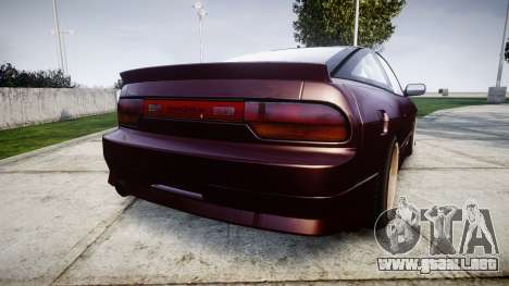 Nissan Silvia S14 Sil80 para GTA 4 Vista posterior izquierda