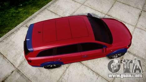 Audi Q7 2009 ABT Sportsline para GTA 4 visión correcta