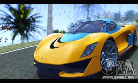Grotti Turismo R v2 (GTA V) (IVF) para GTA San Andreas