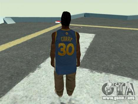 Ballas1 New Skin para GTA San Andreas segunda pantalla
