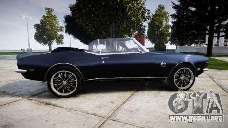 Chevrolet Camaro Mk.I 1968 rims2 para GTA 4 left