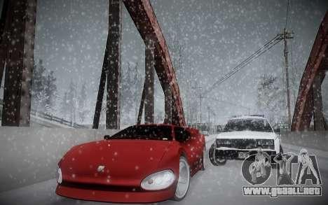 Invierno ENBSeries para GTA San Andreas sucesivamente de pantalla