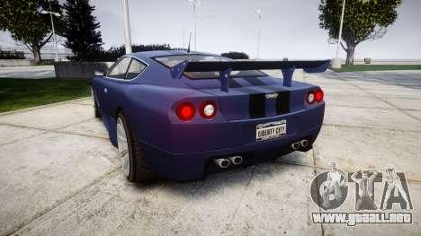 Dewbauchee Super GT Tuning v3.0 para GTA 4 Vista posterior izquierda