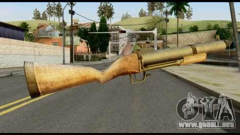 M79 from Max Payne para GTA San Andreas segunda pantalla